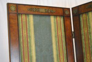 Regency-Style-Burl-Wood-Four-Panel-Screen-by-Mario-Buatta-for-Widdicomb-192178600259-3
